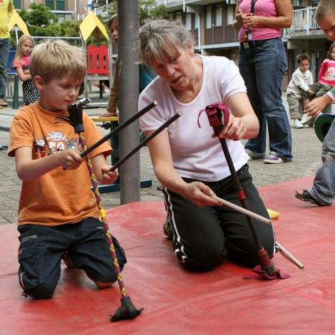 Leren bij de Circusschool