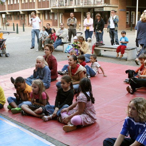 Goed opletten bij de Circusschool