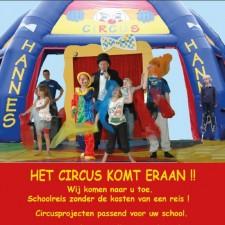 geshopte foto circus met tent