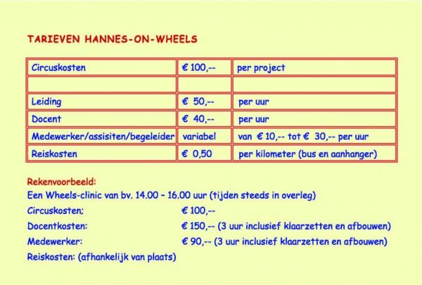 2011nov_affiche_hannes-on-wheels1_Tarieven