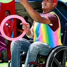 ringen in rolstoel