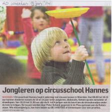 circusschool woerden '14