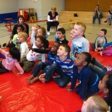 Aandacht bij Kindcentrum PWA voor de uitleg