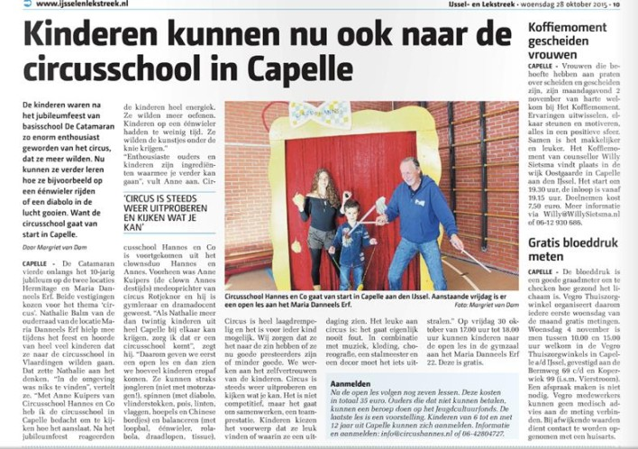 circusschool Capelle