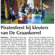 Piratenfeest De Graankorrel