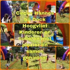 Circus Hannes bij Dock - Hoogvliet - 20 juli 2020