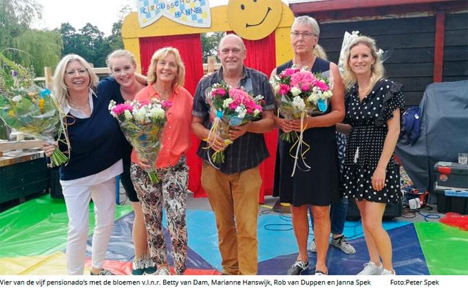 Circus Hannes maakt feest van 180 jaar onderwijs compleet!