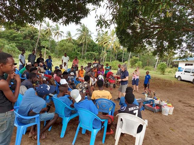 Circus Hannes in Mombasa –  project samen met S2S – de jongens van Onesimus  – 29 september 2020