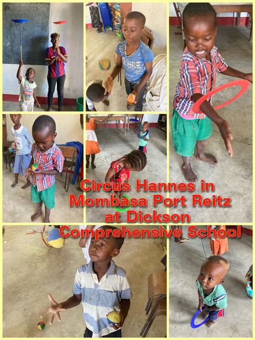 Circus Hannes in Mombasa Port Reitz - 24 november 2020