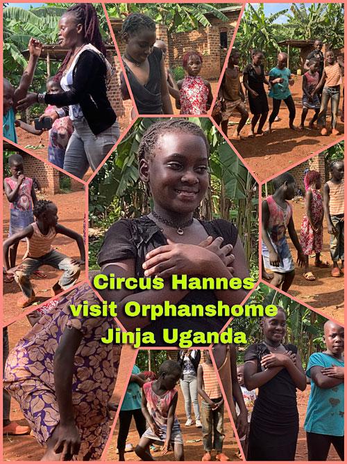 Circus Hannes in Uganda - november 2020